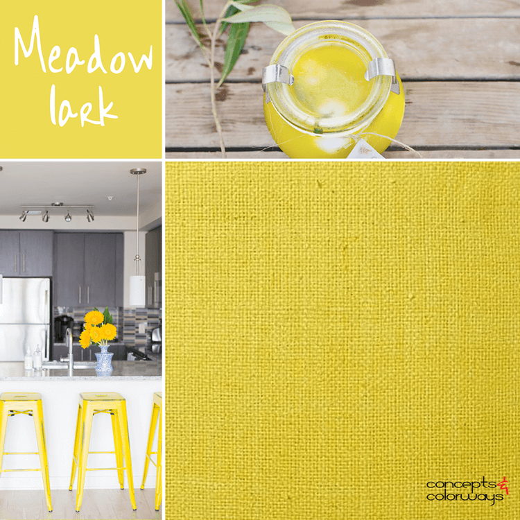bright yellow, lemon yellow, pantone meadowlark, color trends, color trends 2018, color trends spring 2018, color for interiors, bright yellow interior design