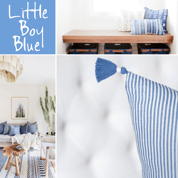 pantone little boy blue interior design color trends