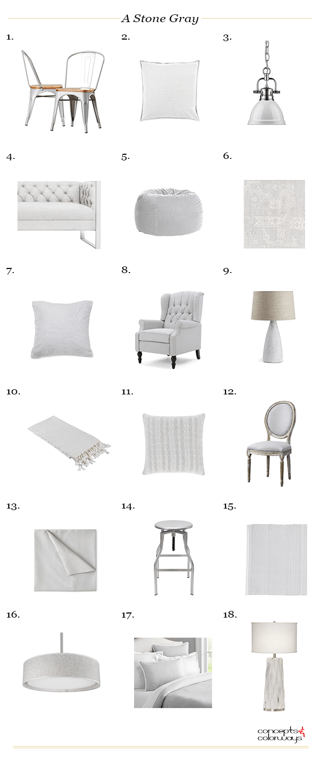 silver decor, gray room ideas, gray couch living room, gray decor, grey living room decor, stone gray