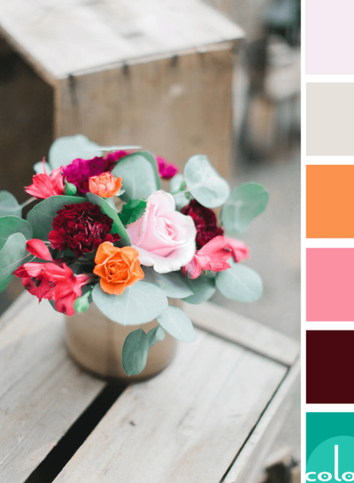 ROSE MEDLEY (a pink and green color palette)