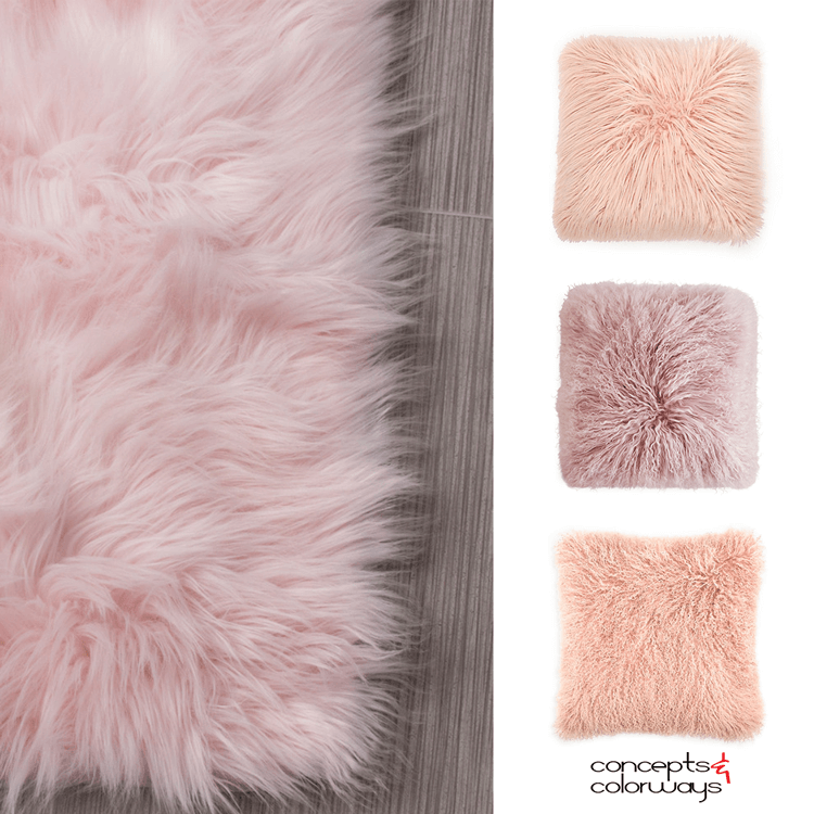 pink sheep skin, pink sheepskin rug, sheepskin pillow, faux fur pillows, fur pillows, mongolian fur pillows, sheepskin throw, sheepskin rug, blush pink throw, pink pillows, blush throw pillows