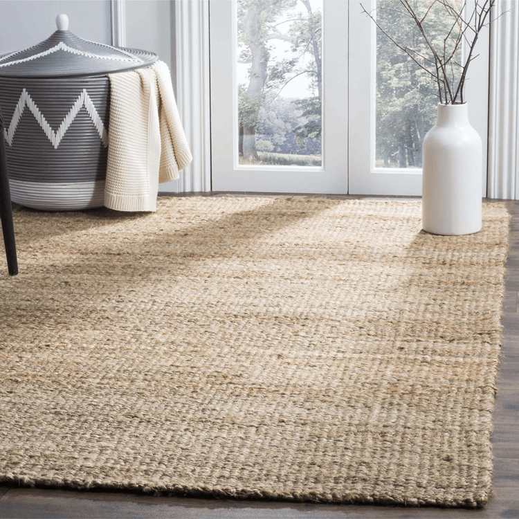 sisal rug, jute rug, beige rug, tan rug, pantone warm sand, beige decor, tan decor