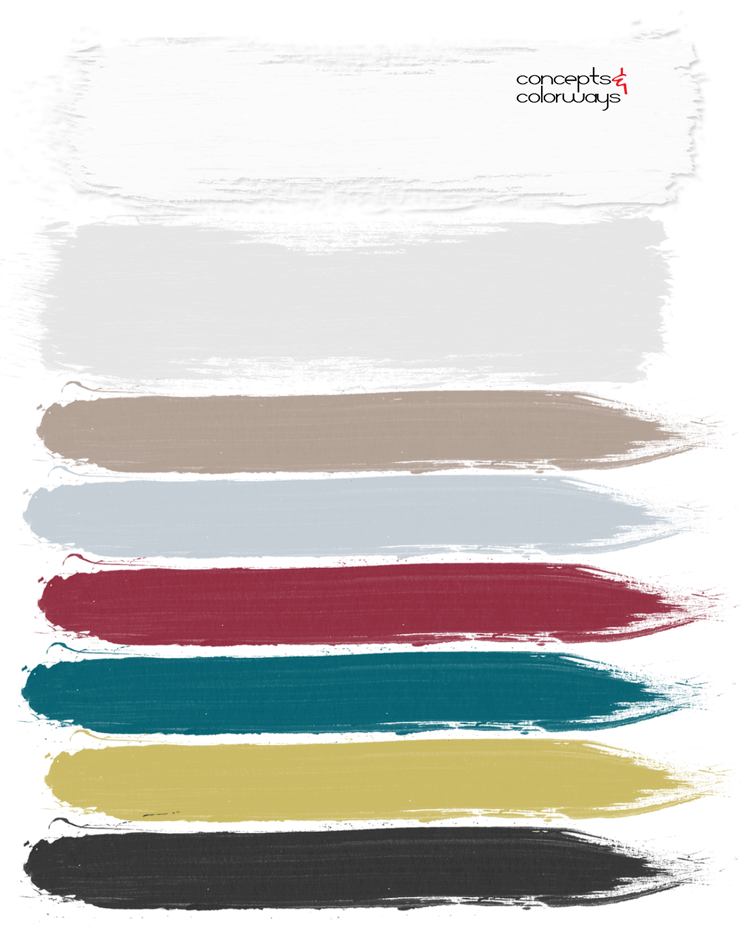 teal and pink, color palette, mid century modern, paint palette, color scheme, teal, chartreuse, pink, grey, taupe, black, berry red, hot pink, dark pink, pantone red pear, pantone ceylon yellow, pantone quetzal green